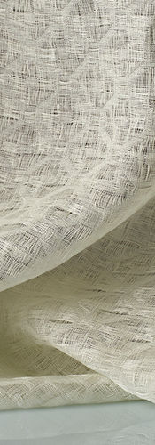 Dedar Curtains Bonbori col.1 white – Geometric linen fabric