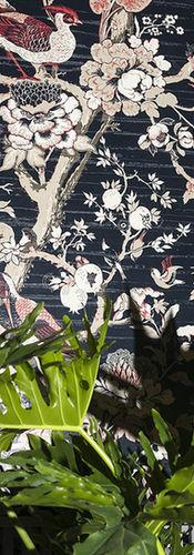 Dedar Silkbird Wallcovering col.1 Notte