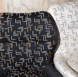 Dedar Upholstery Lora Logic – Jacquard with small patterns