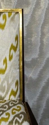 Dedar Amoir Libre Wallcovering col.19 Argento