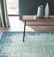 Villa Nova Rugs – Marka Teal – Flat Weave Chenille Rug