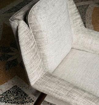Dedar upholstery Col. 6, Glacier, Texturologie Collection