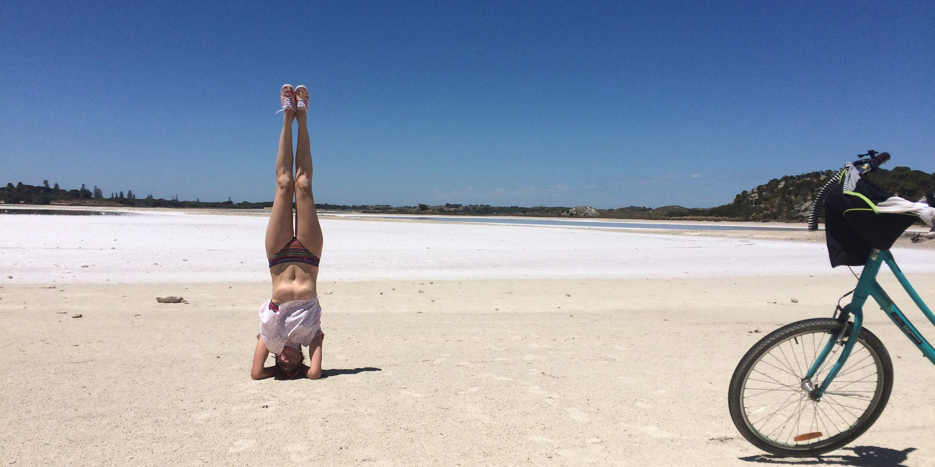 Headstands at Rottnest Island
