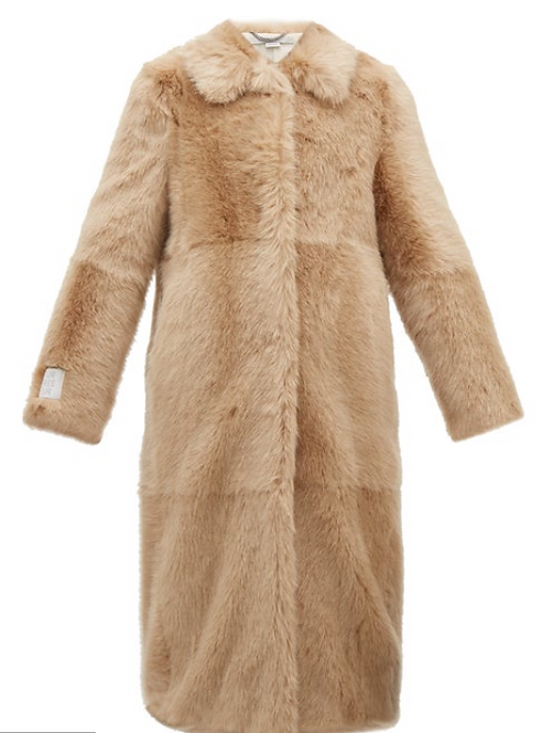 Teddy Bear Alter Faux Fur Coat