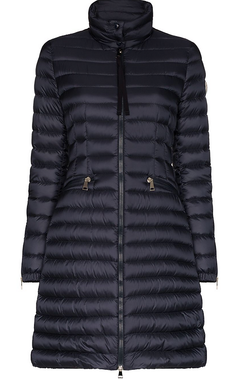 Navy 'Sable' Down Puffer Jacket