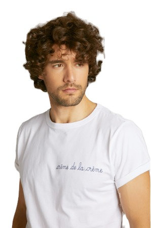White 'Creme de la Creme' Classic T-Shirt