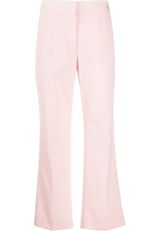 Tea Rose Cropped Tailored Trouser