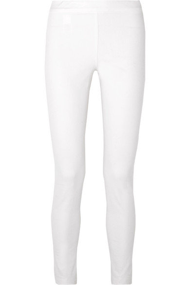 White Stretch Cotton Jean