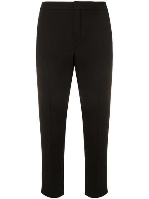 Black Iconic Tailored Pant