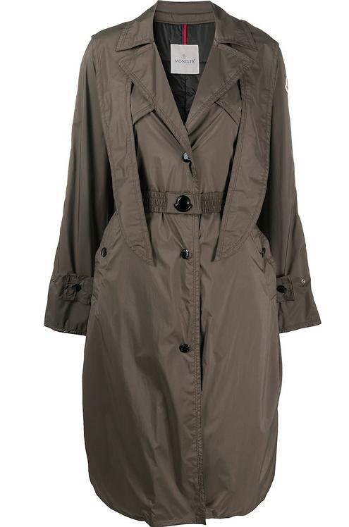 Dark Green 'Vermeil' Rain Coat