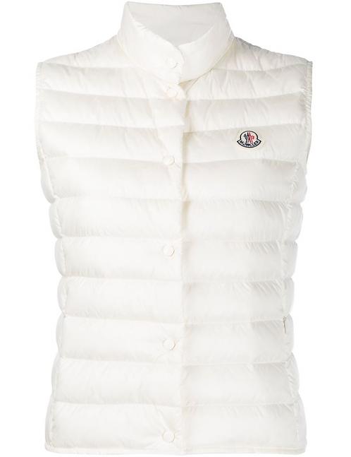White 'Liane' Puffer Vest