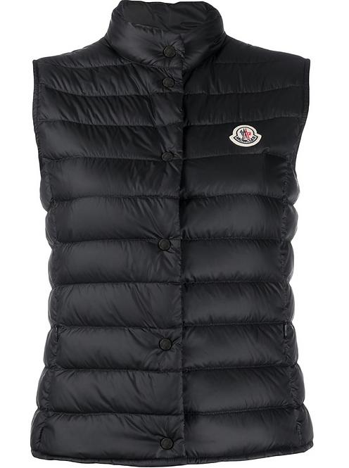 Black 'Liane' Puffer Vest