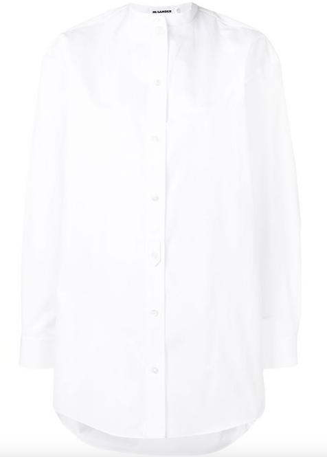 White 'Wednesday' Shirt