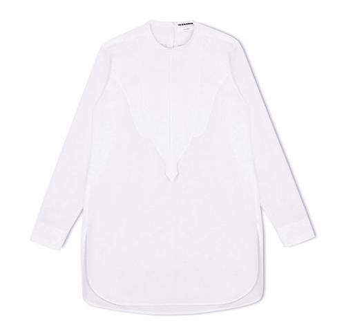 White 'SATURDAY' Shirt