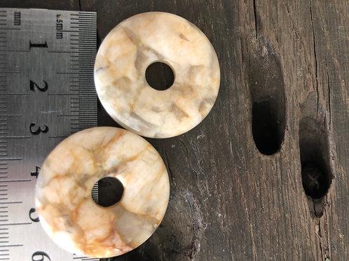 Feldspat donut 3 cm.