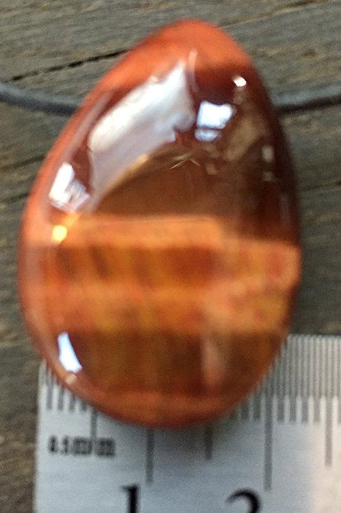 Okseøje m. 3 mm. hul ca. 12 - 15 gr.