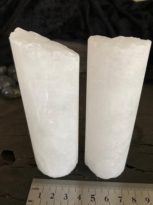 Bjergkrystal cylinder ca. 230 - 300 gr.