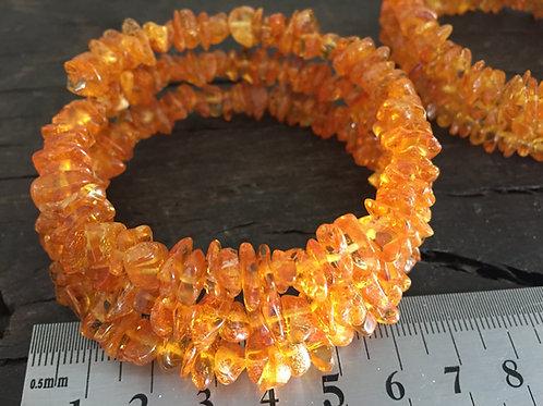 Rav armbånd spiral ca. 20 gr.