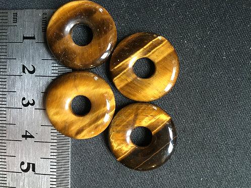 Tigerøje donut 2 cm