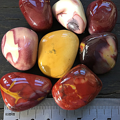 Mookait Rød 10 - 32 gr.