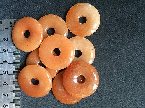 Aventurin orange 3 cm