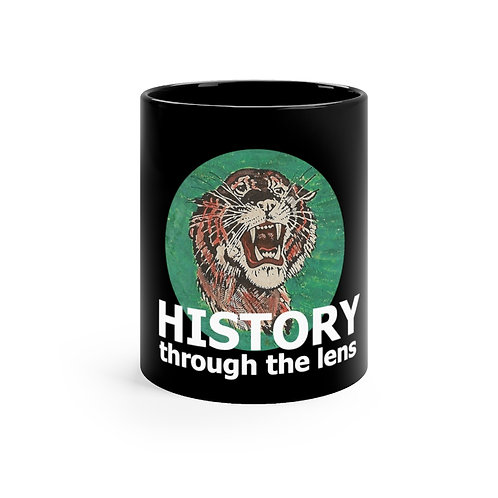 History Through The Black mug 11oz