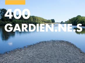 Déjà 400 gardien·ne·s du Rhône!