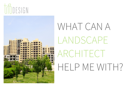 What Can A Landscape Architect Help Me With?
