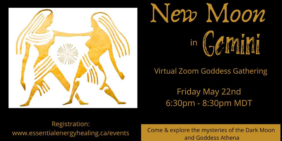 New Moon in Gemini - A Virtual Goddess Gathering exploring the dark moon mysteries