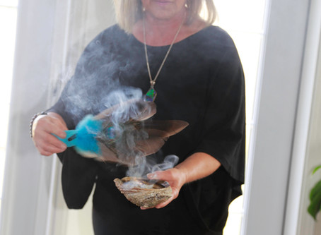 SMUDGING YOURSELF