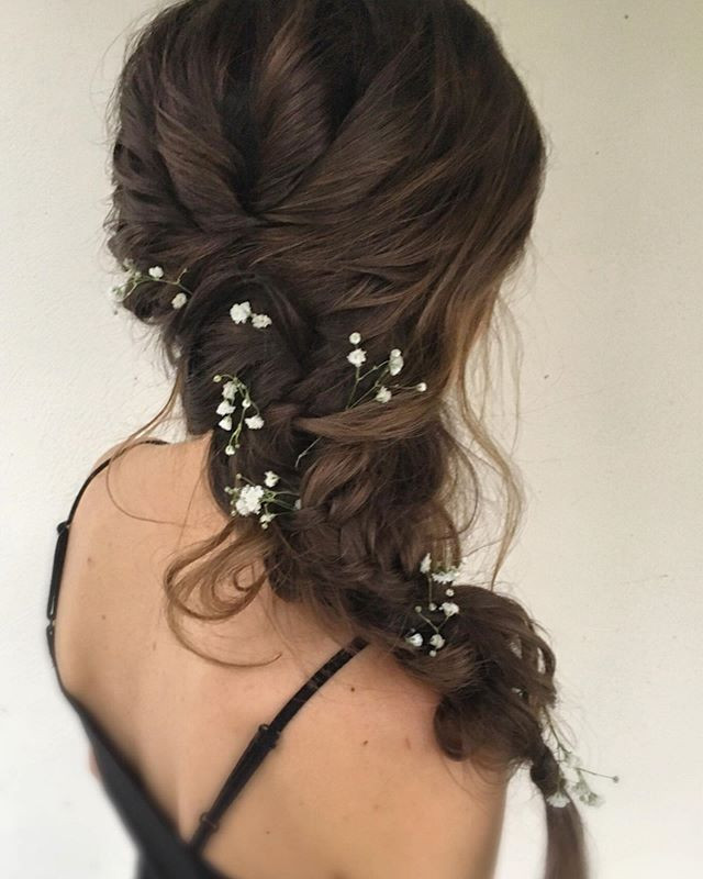 Loved creating this shoulder braid for t