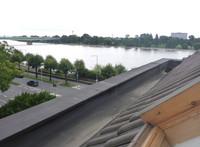 Ausblick vom Dachfenster