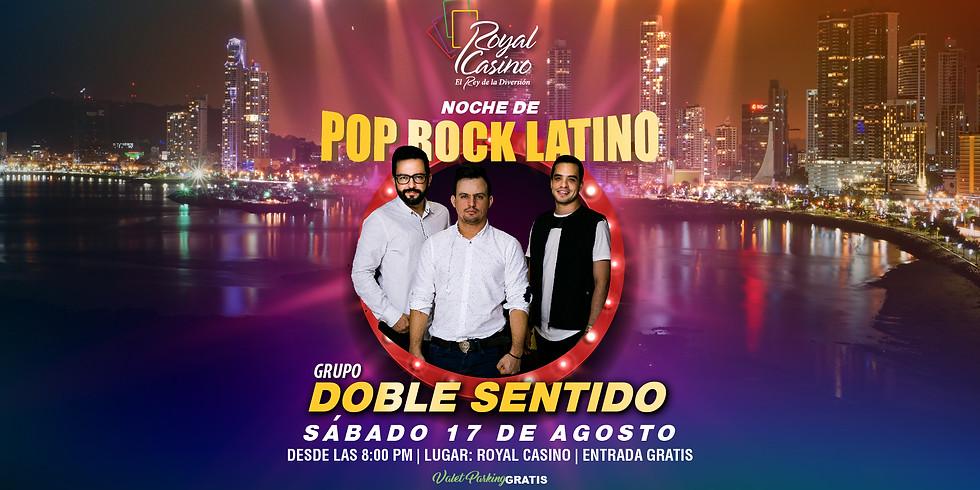 NOCHE DE POP ROCK LATINO