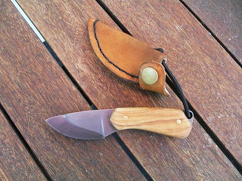 Mini couteau droit olivier
