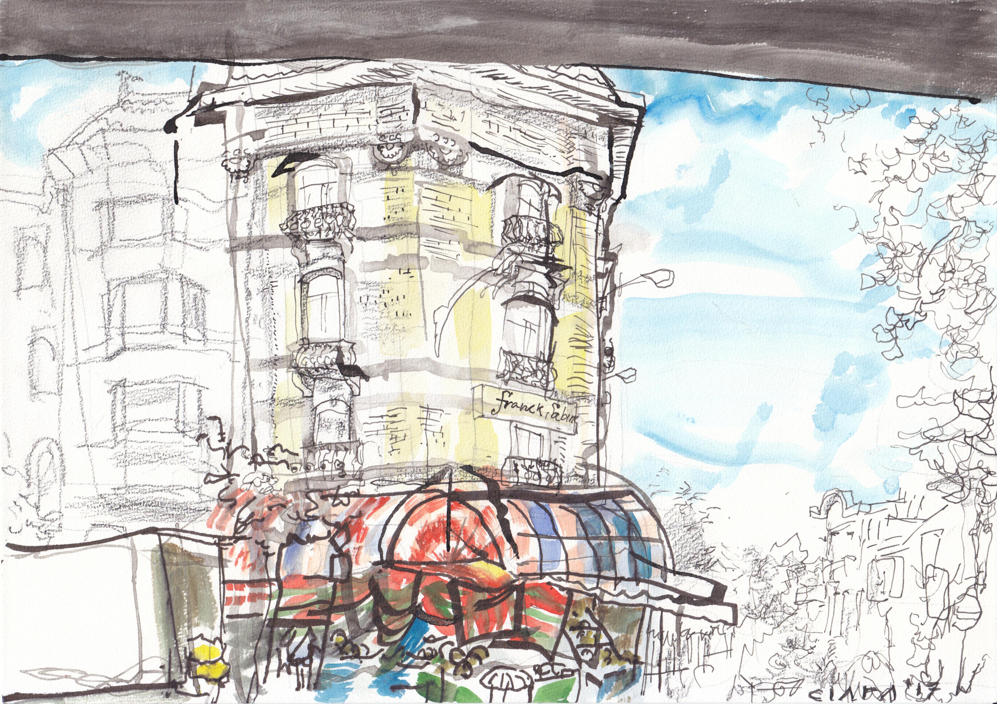 Stadstekeningen-Brussel-Frank&Sabine