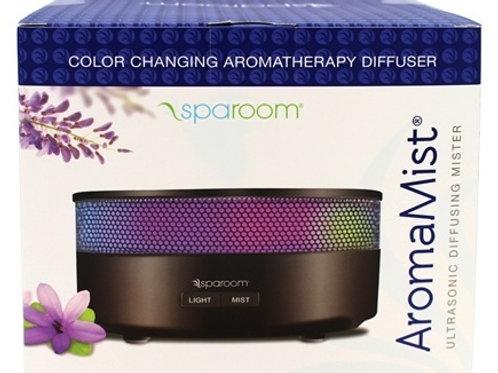 SpaRoom AromaMist Ultrasonic Diffusing Mister Black