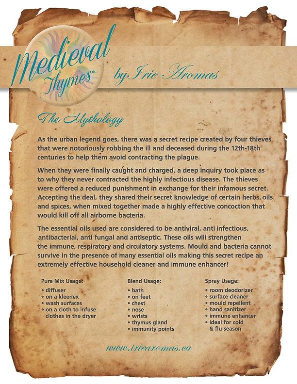 Medieval Thymes Legend