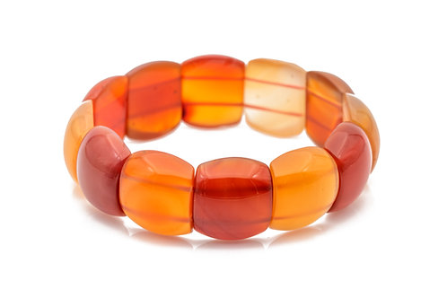 Red Agate - 19*22 mm