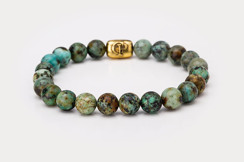 African Turquoise - 8mm