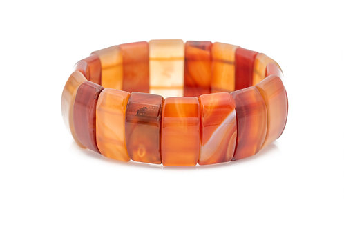 Red Agate - 11*23 mm