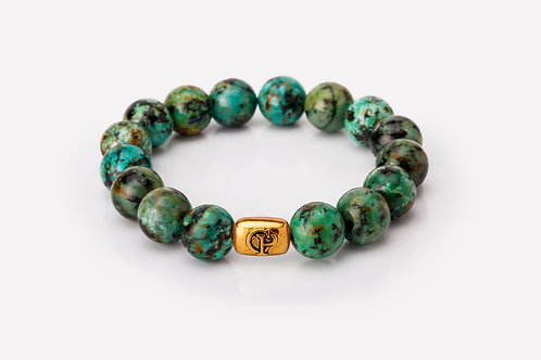 African Turquoise - 12mm