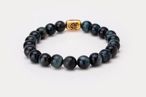 Blue Tiger Eye - 8mm