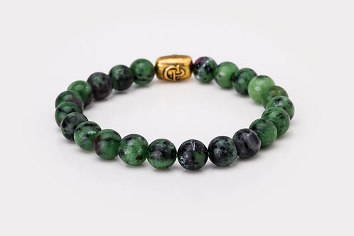 Ruby Zoisite - 8mm