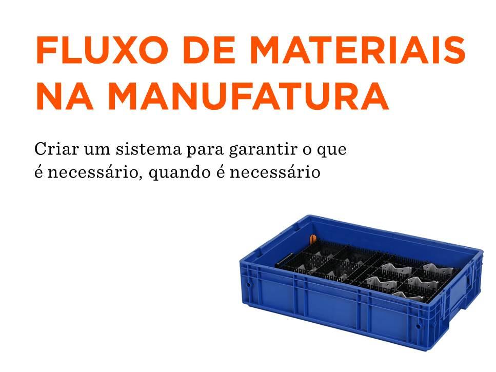Fluxo de Materiais de Manufatura
