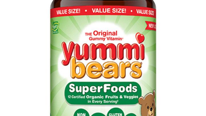 Витамины для детей Yummi bears SuperFoods