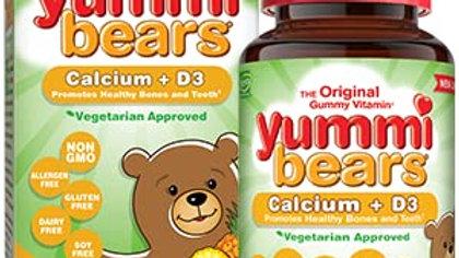 Вегетарианские вкусные мишки Yummi bears,Кальций+Д3
