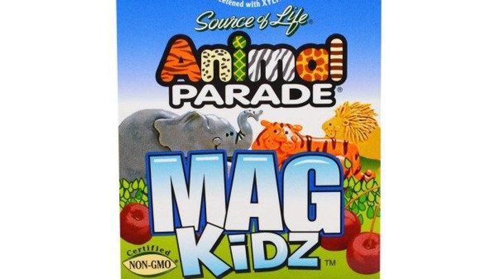 Витамины для детей Animal PARADE  Mag kids