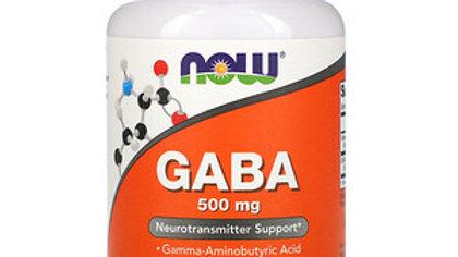 Now Foods, ГАМК, 500 МГ ,  100 Растительных капсул