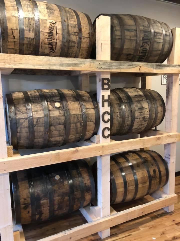 BHCC Barrel Racks
