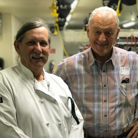 Chef Tim Carter and John Genasci